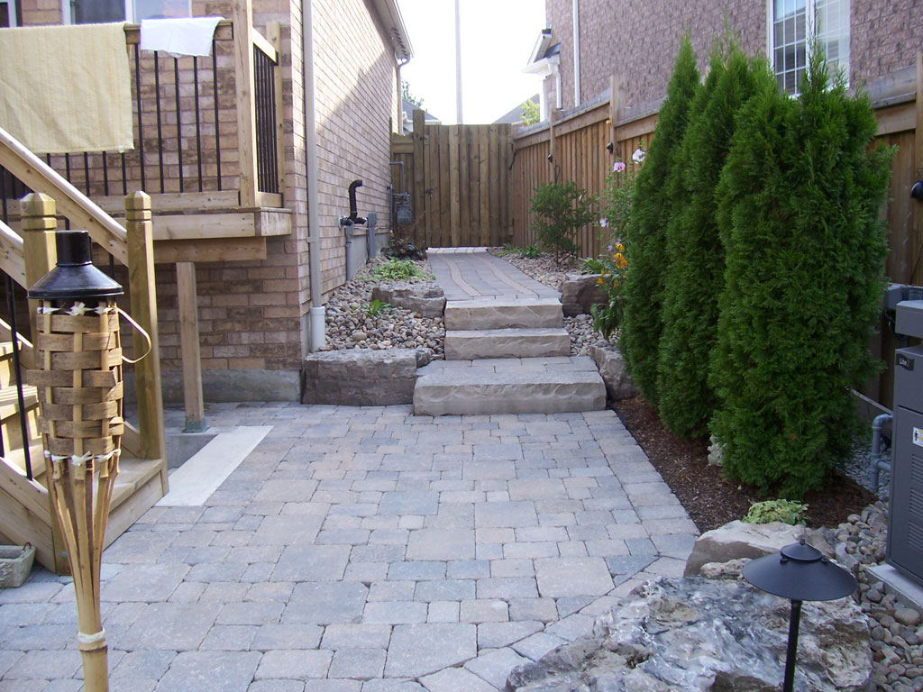 Backyard Landscaping Oakville : Scaping s backyard landscaping oakville